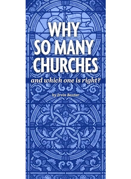 Why So Many Churches? Tract PDF Download