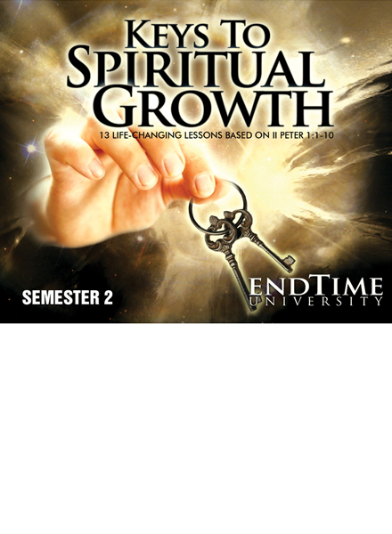 Keys to Spiritual Growth (13 Lessons) DVD