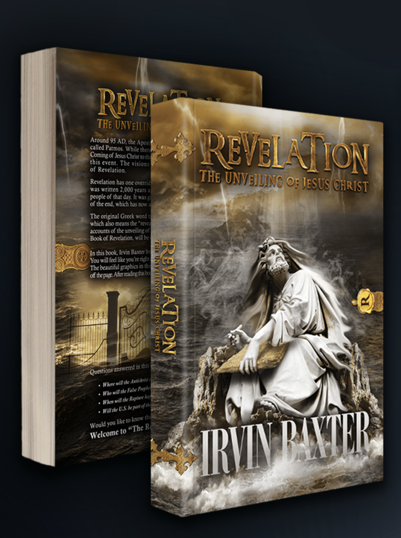 Revelation: The Unveiling of Jesus Christ Volume 1 Book